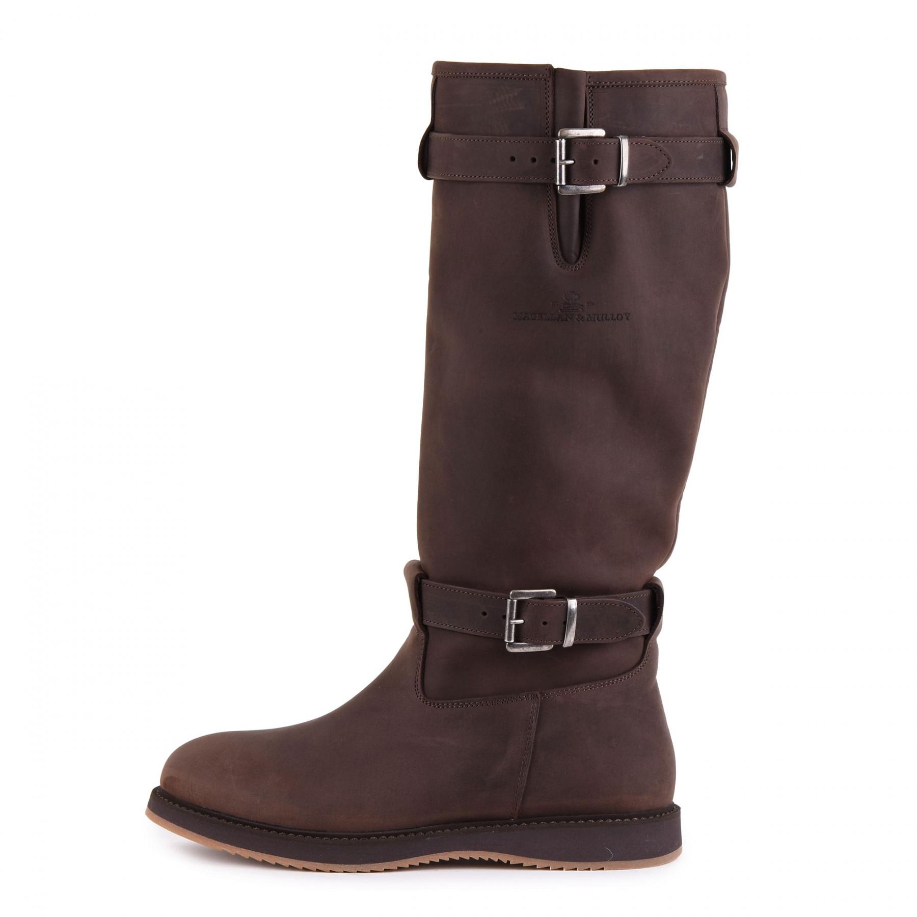 Magellan & Mulloy Xscape Denver Brown, dunkelbraune Damen Outdoor Stiefel, Größe 36