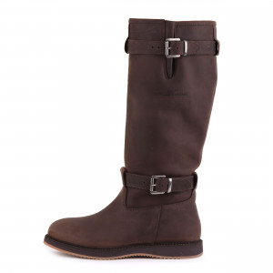 Magellan & Mulloy Xscape Denver Brown, dunkelbraune Damen Outdoor Stiefel
